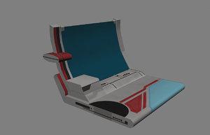 3d computer mass model