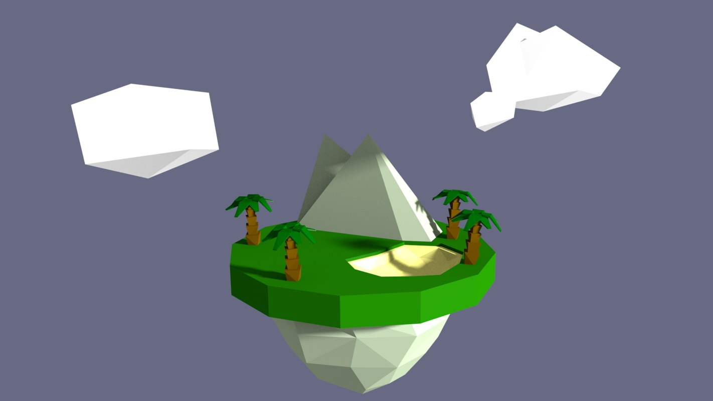 floating island 3ds