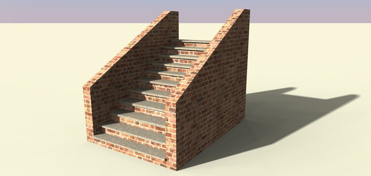 3ds stairs