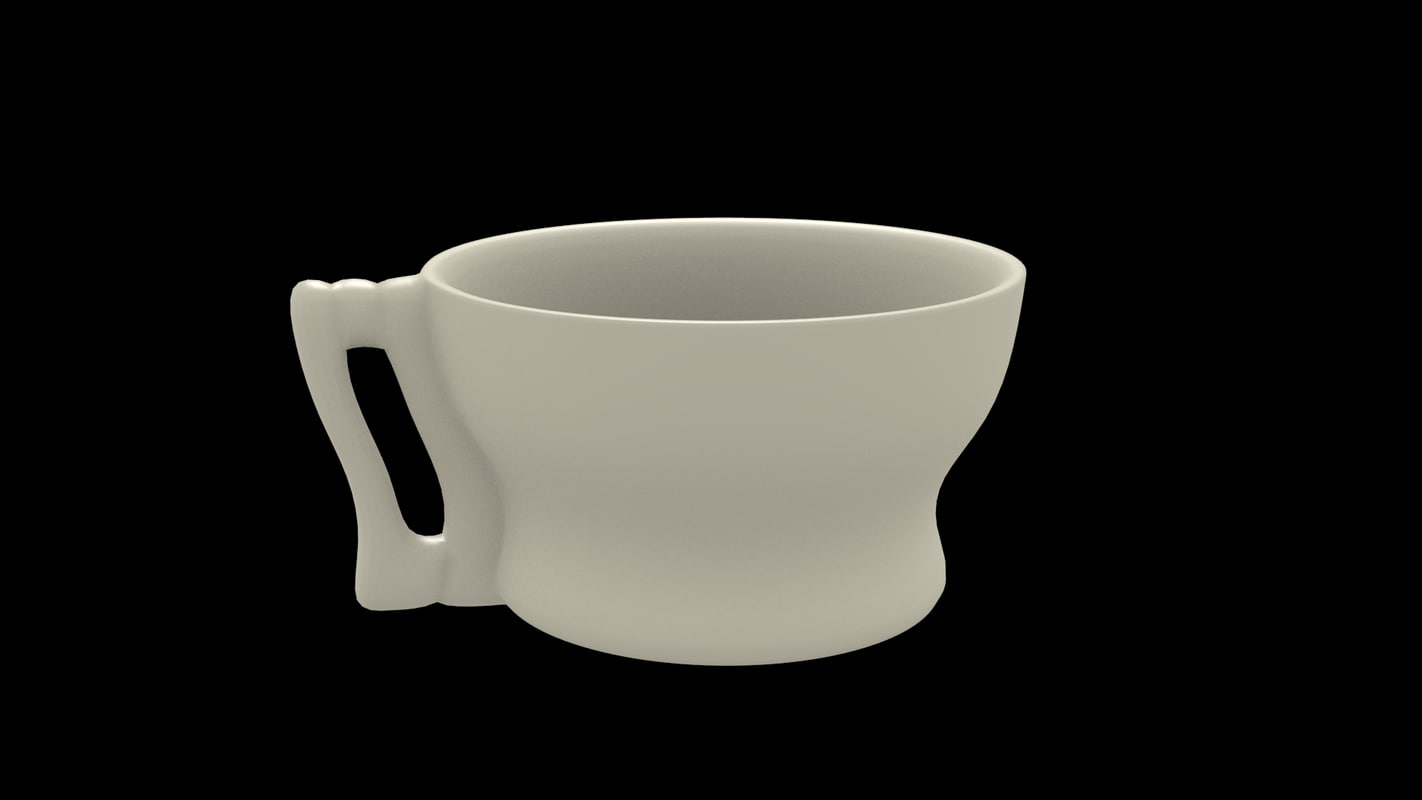 simple cup 3d 3ds