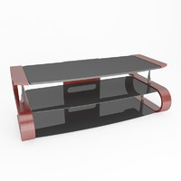 3d tv stand model