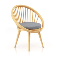 3ds max wood wooden chair
