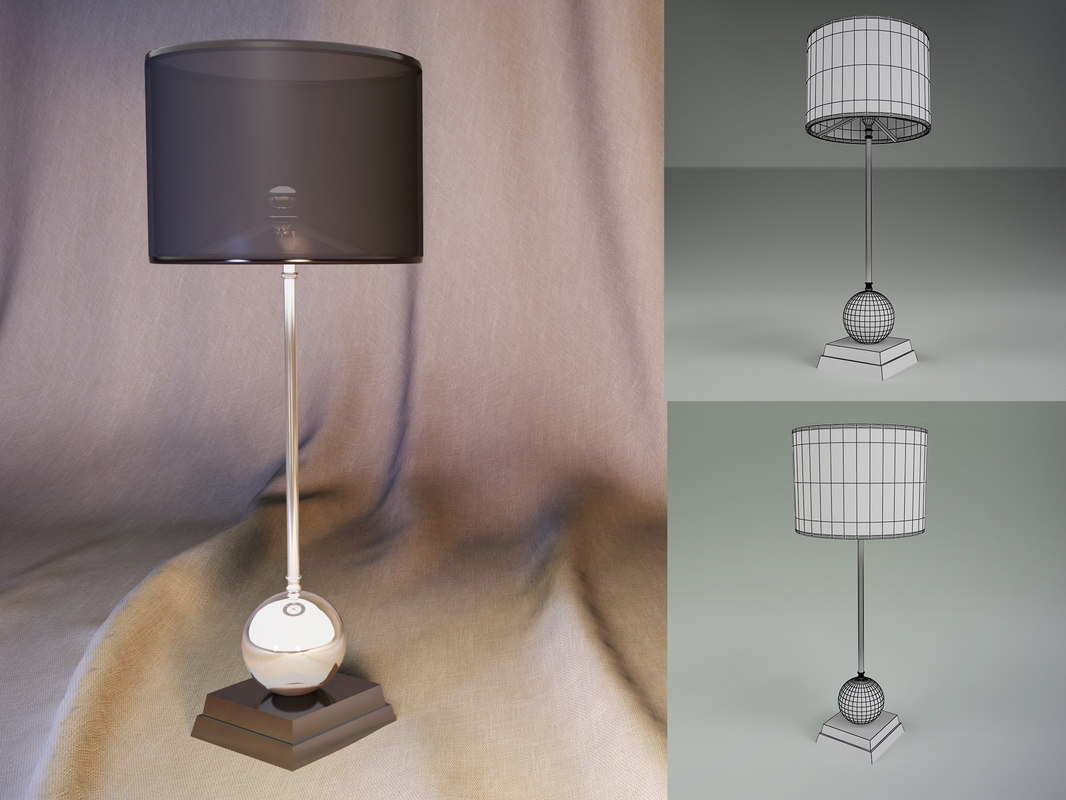 3d model of lamp carnivale