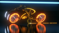 Tron Legacy Light Bike Exact Replica Model Clu Version