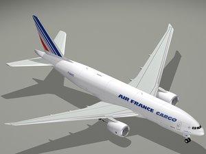 3d b air france cargo model