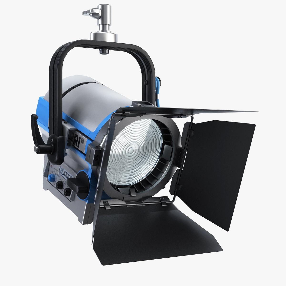arri led lampheads l5-dt 3d model