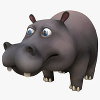 Cartoon Hippopotamus