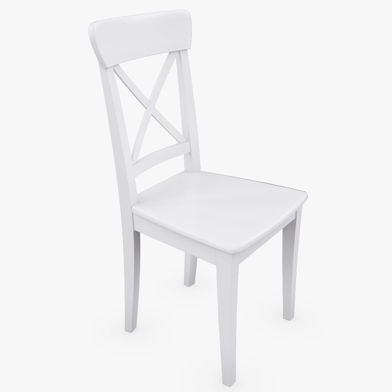 3d realistic ikea ingolf white