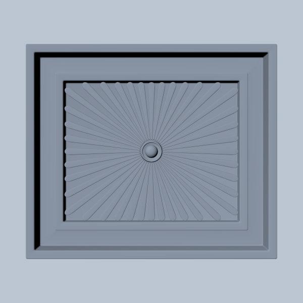 3d square wood