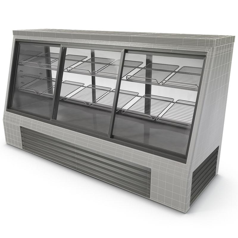 display refrigerator 3d model