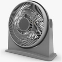 table fan 3D models