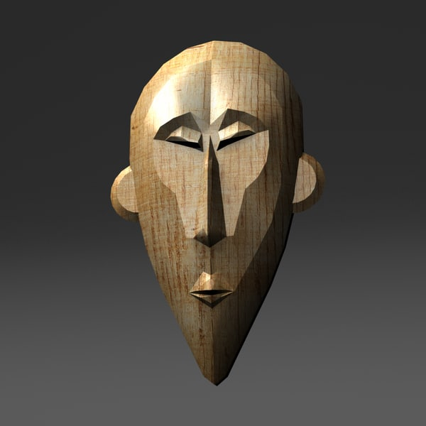 3d traditional mask
