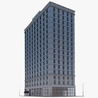 3d ny building model