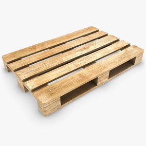 pallet scanline subdivided 3d max