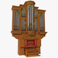 pipe organ obj