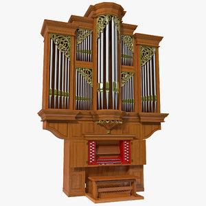 pipe organ obj
