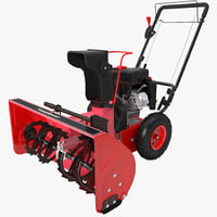 snow blower power smart 3d model