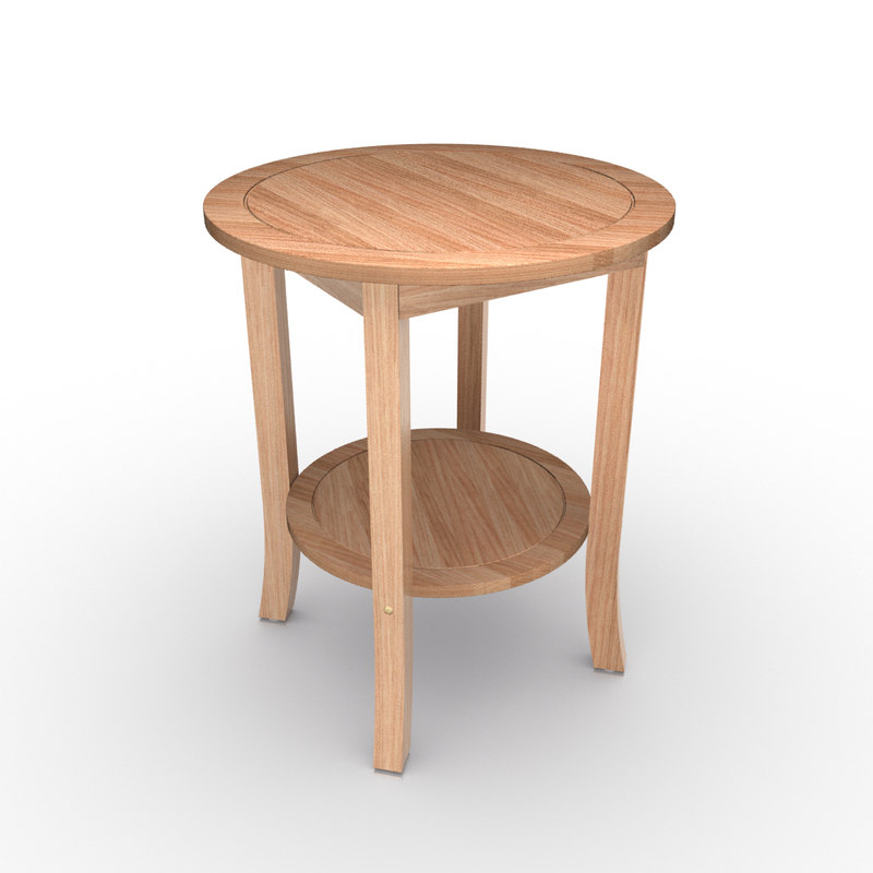 3d model wooden coffee table for Coffee table 3d model