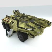 3ds max military apc