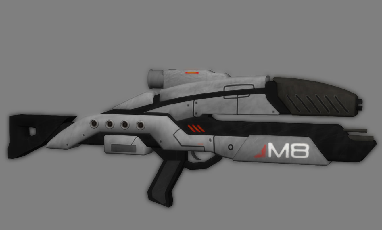 xsi m8 avenger assault rifle