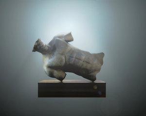 body statue 3d obj