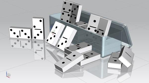 dominos 3d max