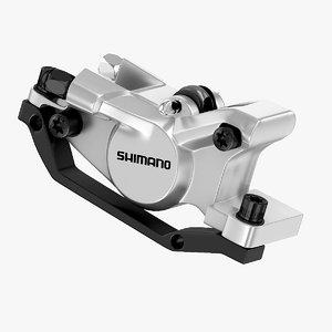 3d max shimano brake caliper