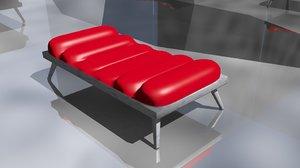 3dsmax massage table