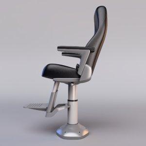 helm seat 3d model