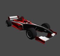 3d formula cars model