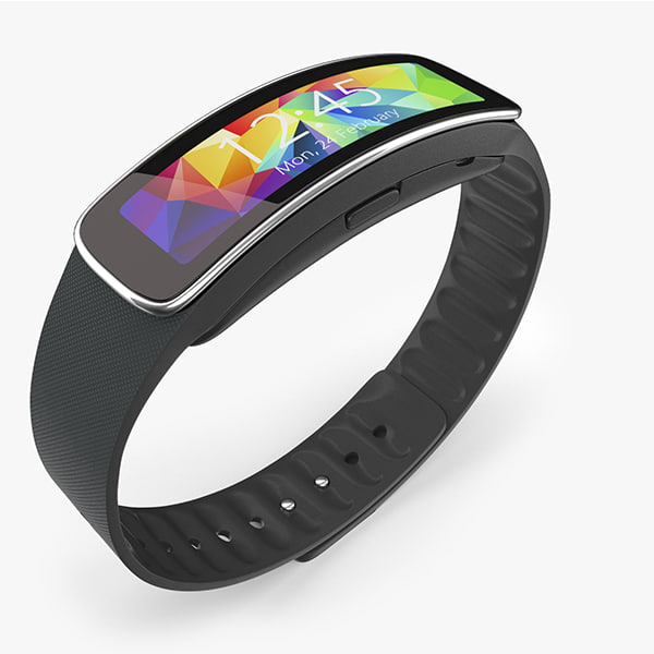 3ds max samsung gear fit