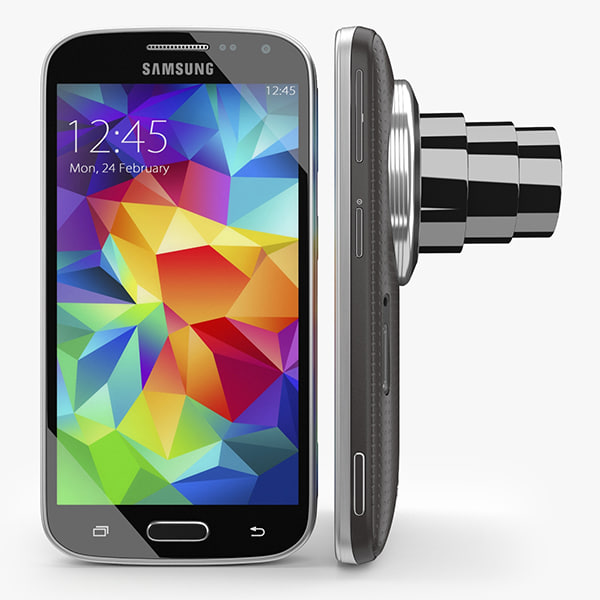 samsung galaxy k zoom 3d model