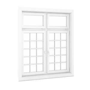 openable plastic window 1940mm 3d model