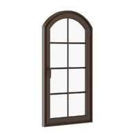 Brown Metal Window 940mm x 1820mm