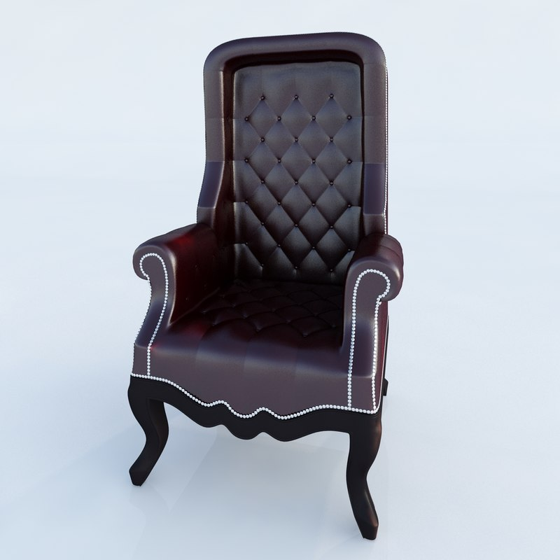 canopy chair diva rocker 3d ma