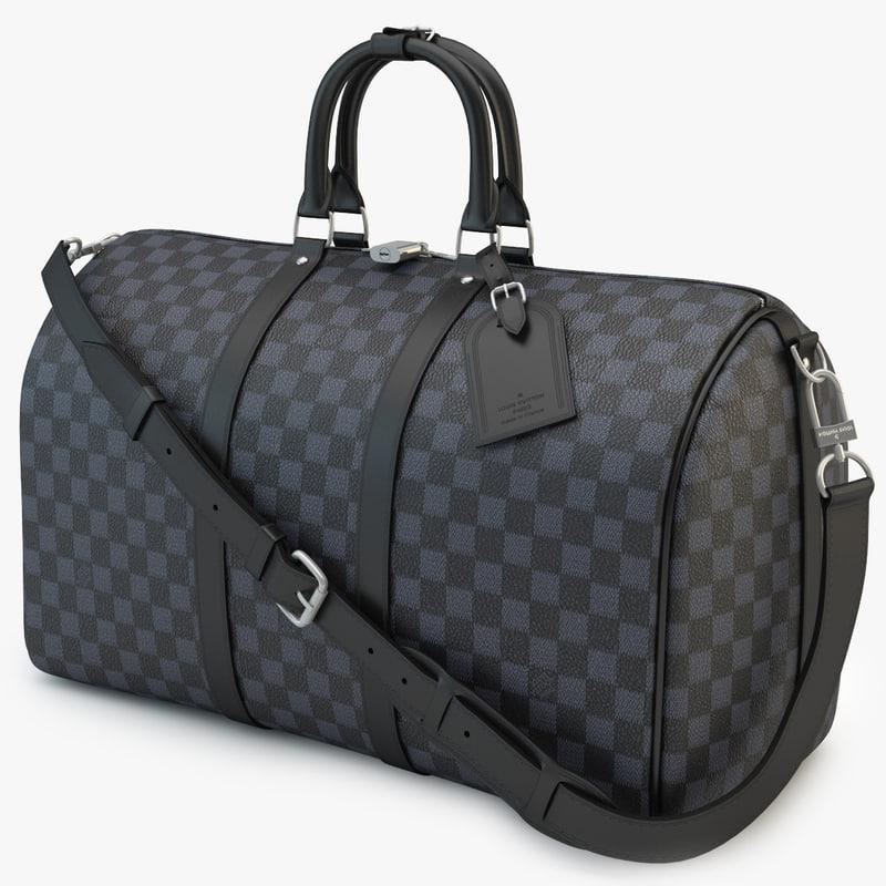 3d model louis vuitton bag 03