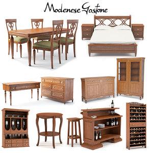 3d modenese gastone coffee table