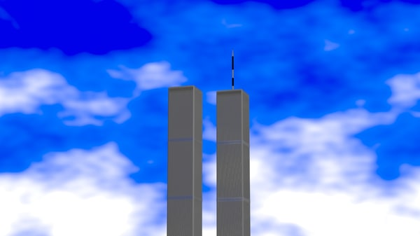 3d max world trade center towers