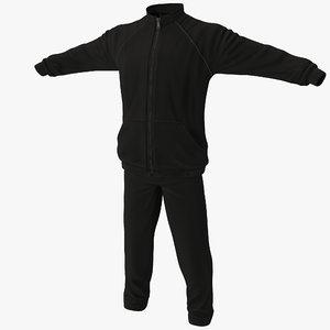 3d model sport clothes 3