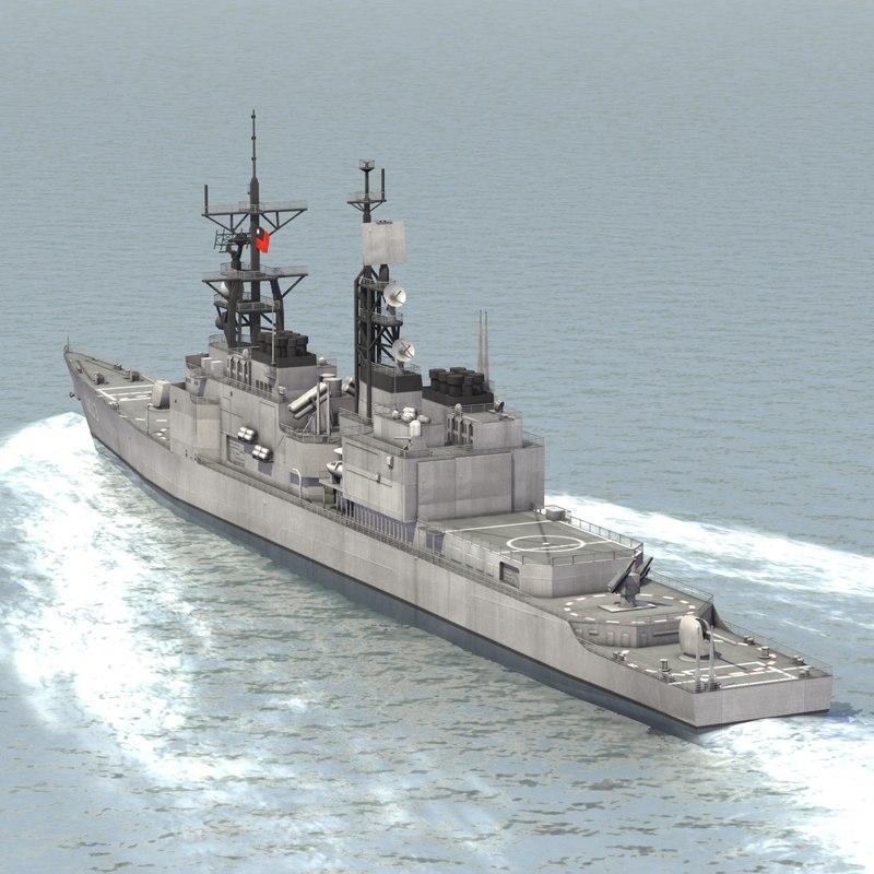 3d model rocs tso ying destroyer