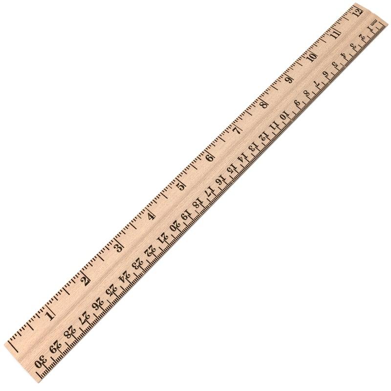 max wood ruler