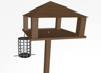 bird feeder 3d 3ds