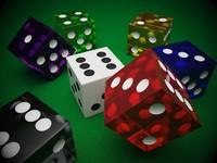 casino dice 3d max