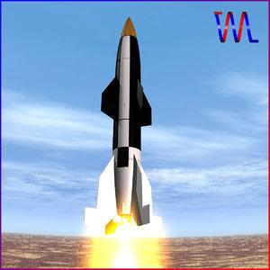 3d hermes a1 missile