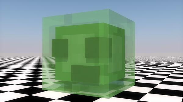 slime animation c4d