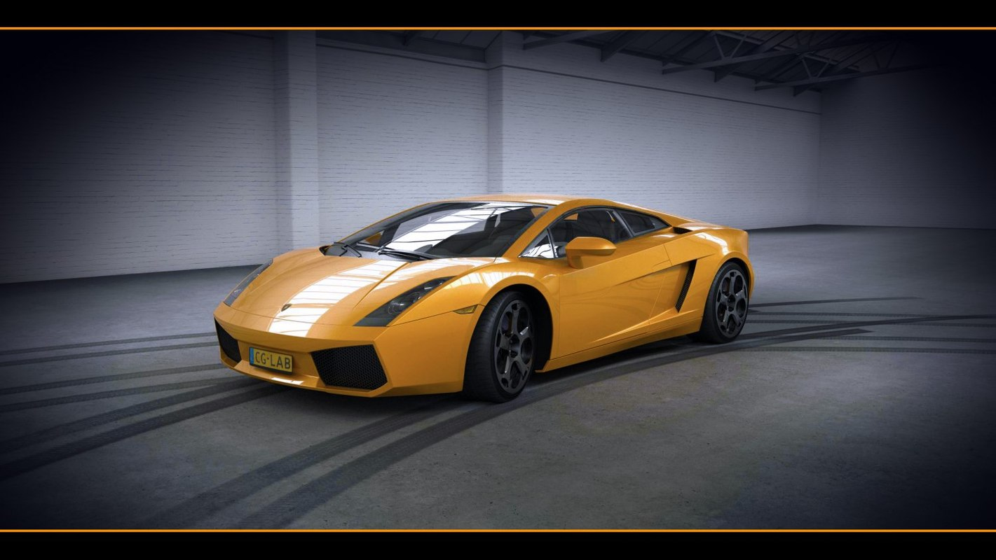 obj 2003 gallardo interior car