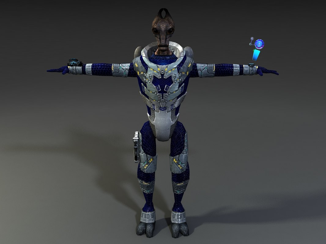 alien m animation ma
