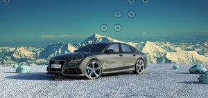 3d car audi rs7