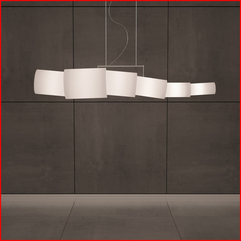 3d stylish lamp model