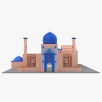 max gur-emir mausoleum tamerlane